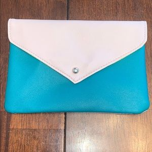 3 for $10 Green & Pink cosmetic pouch